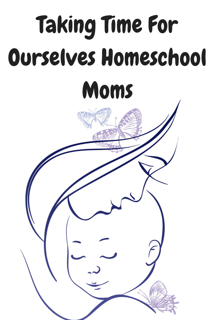 Taking time for Ourselves as homeschool moms is as important as all the lessons being taught. A rested and recharged mom makes her family run better.