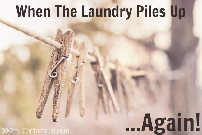 Laundry Piles Up