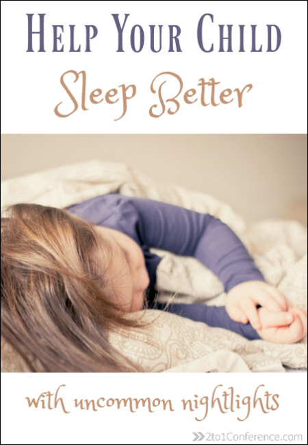 Help your child sleep better with special nightlights. Give them the tools they need for a good nights sleep.
