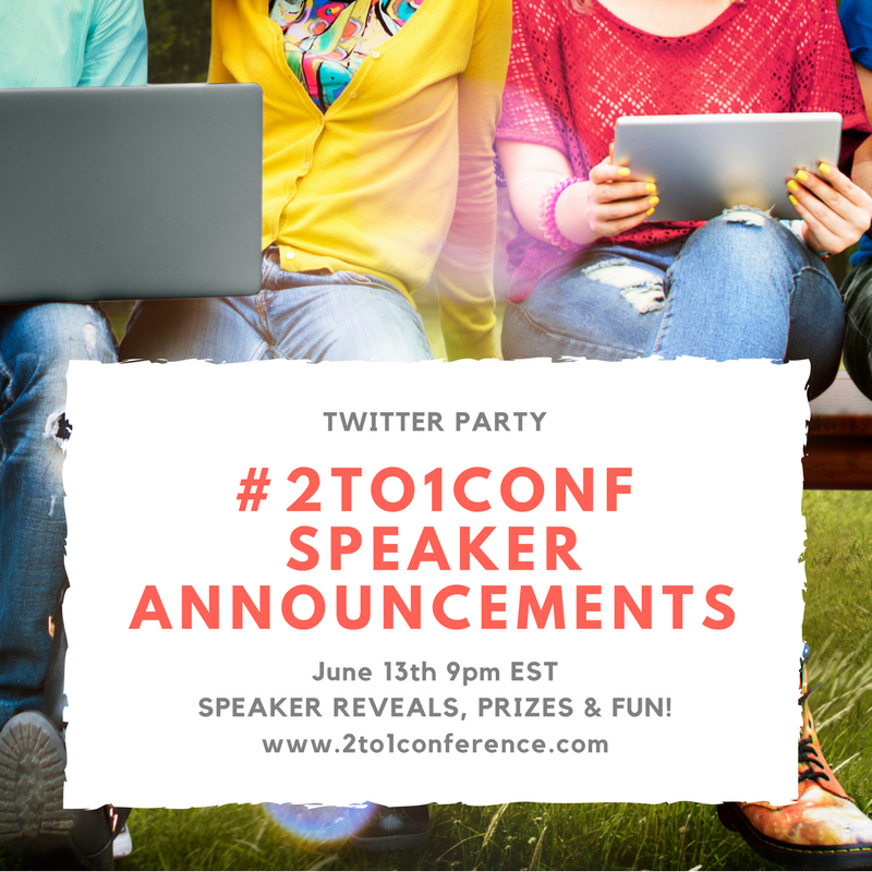 An amazing line up of speakers and sessions for the 2017 2:1 Conference is coming.