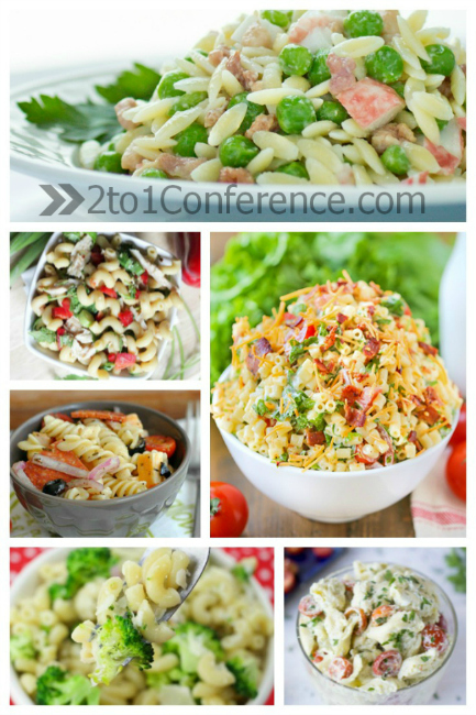 20 easy pasta salad recipes for summer