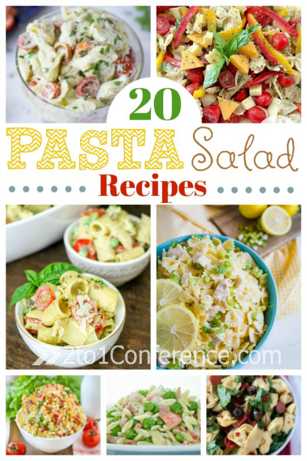 Delicious pasta salad recipes perfect for potluck and summer entertaining.