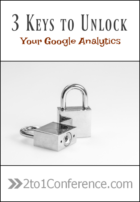 There are 3 key elements that every blogger needs to unlock within their Google Analytics in order to make informed and educated choices about content creation, marketing efforts, and campaign conversions.