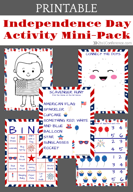 photograph relating to Flag Day Printable Activities known as Flexibility Working day Printable Pack - The 2:1 Convention